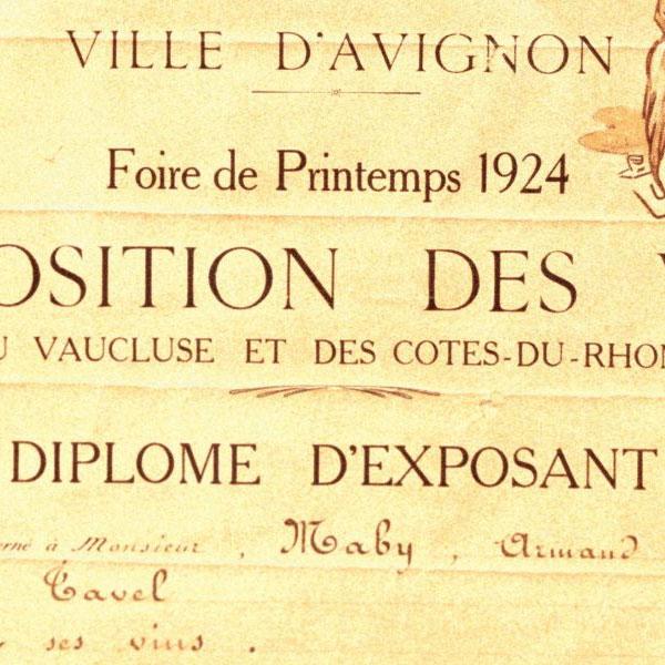 Foire Vins 1924
